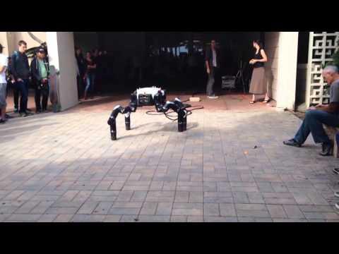 Robosimian Demonstration -- DARPA Robotics Challenge