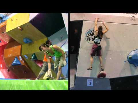 Boulder World Cup 2011 report - Barcelona