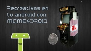 Mame4droid + 86 Roms (670MB)
