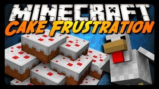 Minecraft: LITTLE CHICKEN THAT COULDN'T! (Cake Survival Challenge)