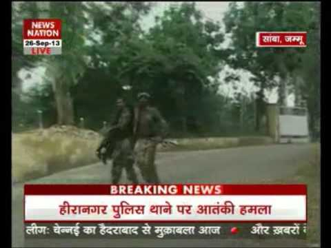 Terrorists attack police station, Army camp in Jammu