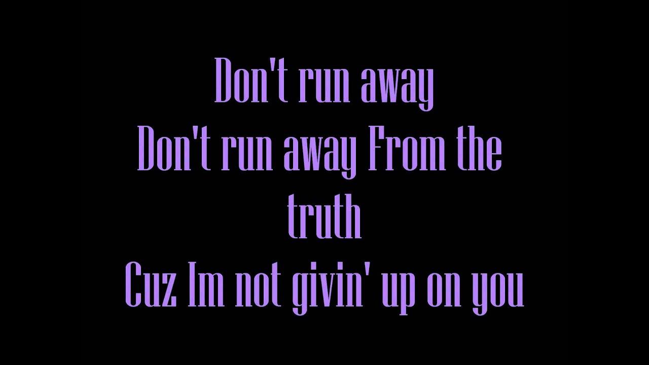 don t shine lyrics: