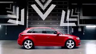 Реклама Audi A3 Sportback 2013 HD]   Daft Punk   Ауди А3 Спортбэк
