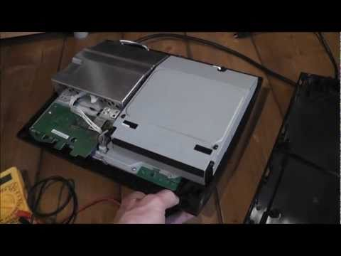 PS3 YLOD Repair - Final Part 3 - Fixing Faulty Consoles - Power Supply Test
