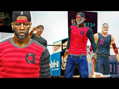 NBA 2k16 Blacktop Xbox 360 Gameplay - GRANDPA HAS MIDLIFE CRISIS! Ep. 3