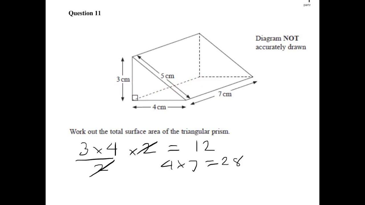 Triangular Prism Surface Area Worksheet – Surface Area Prism Worksheet