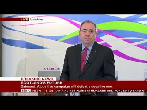 Alex Salmond  Scots will not be bullied by England Aberdeen  17 Feb 2014