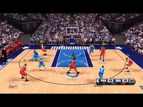 NBA 2K14 Online Dallas Mavericks vs Portland Trail Blazers