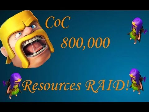 Clash of Clan Farming Raid