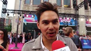 Chat w Tyler Shaw at the 2017 IHeartRadio MMVA's