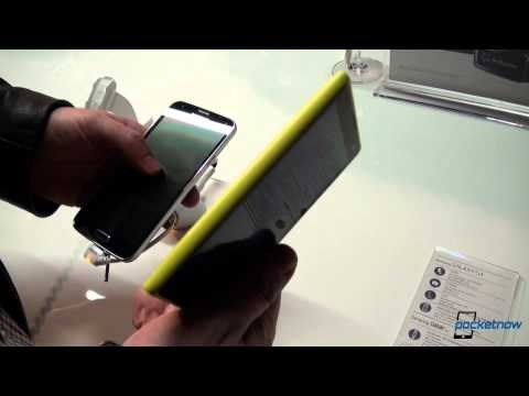 Samsung Galaxy S 5 vs Nokia Lumia 1020 - MWC 2014