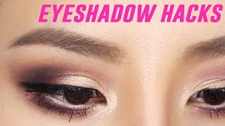 Eyeshadow Hacks For Beginners | Tina Yong