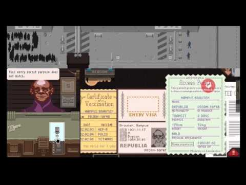 *SPOILER* Papers, Please (Day 31) Ending 20 of 20