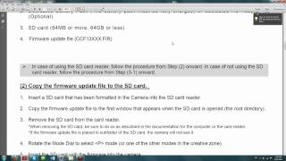 FIRMWARE UPDATE 1.0.4: Canon Rebel T4i (June 14, 2013) How