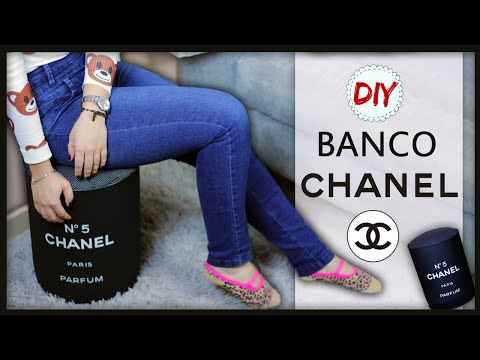 DIY: Banco da CHANEL