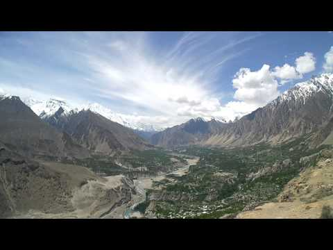 Timelaps of Eagle's Nest, Hunza, Pakistan