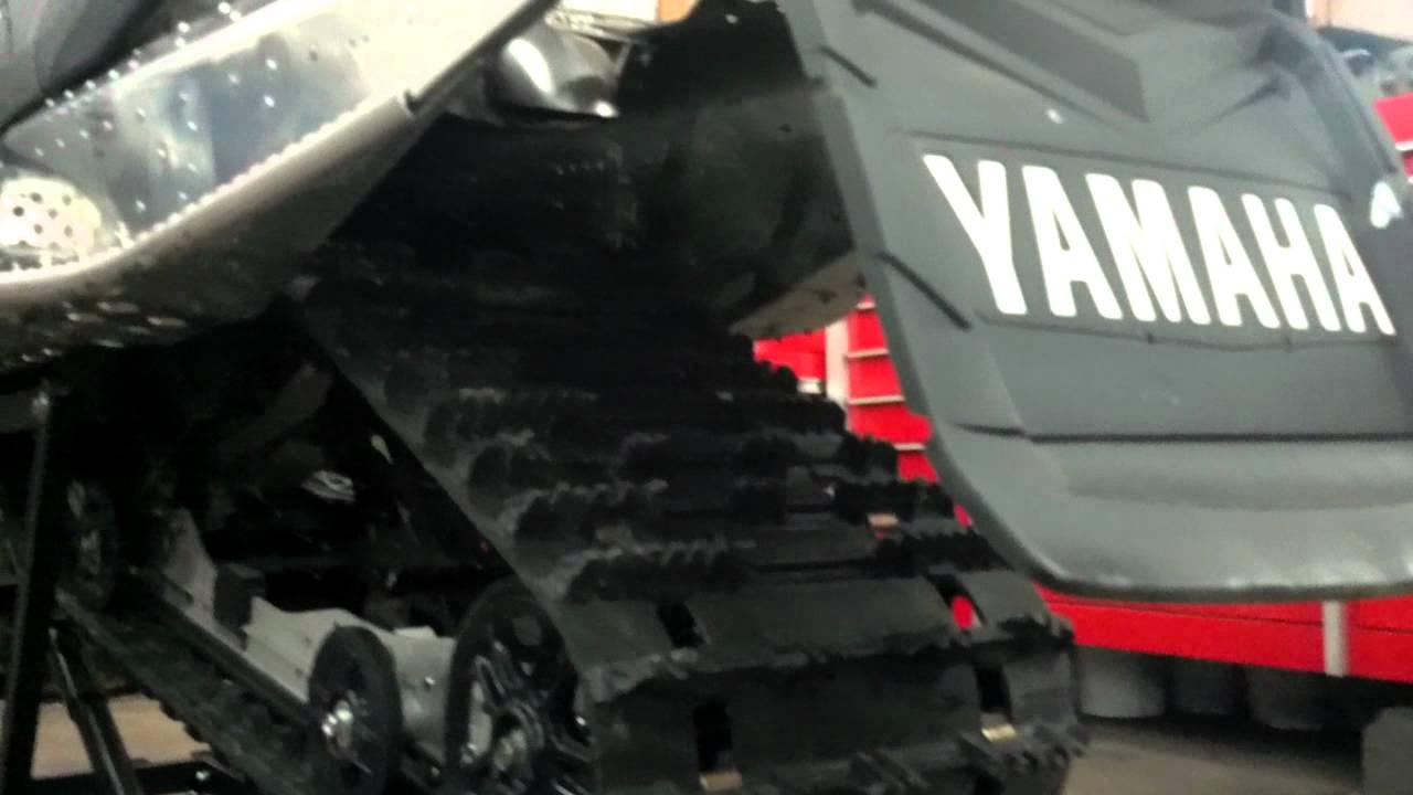 Nytro undertunnel exhaust using magnaflow muffler youtube for Yamaha nytro tunnel