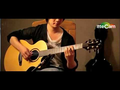 Fingerstyle Ngày Xưa Ngày Nay ( a seaside town ) guitar solo