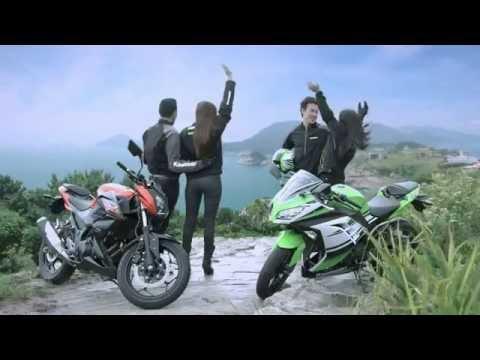 Kawasaki Z250 v Ninja300 - TV Commercial Cambodia