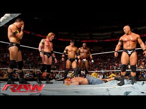 The Nexus' WWE Debut