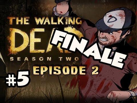 FINALE + MY CHOICES - The Walking Dead Season 2 Episode 2 A HOUSE DIVIDED Walkthrough Ep.5