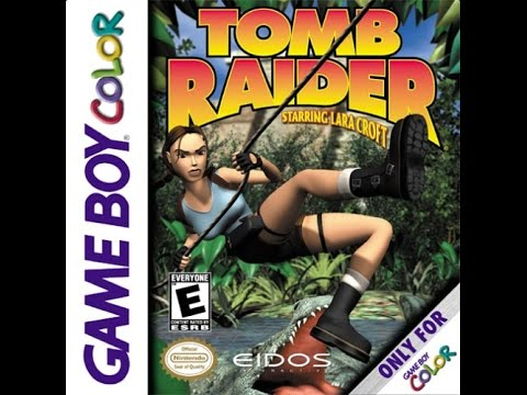 Gaming Paraphilia: Quick Look at Tomb Raider for the Game Boy Color!