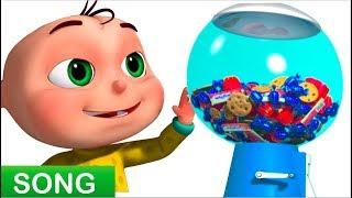 Five Little Babies Playing Candy Ball Machine (Single)   Zool Babies Fun Songs   Videogyan 3D Rhymes