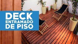 Construir un deck o terraza de madera