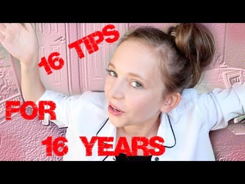 16 Tips for 16 Years