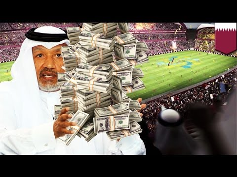Qatar's World Cup 2022 bid won by bribing FIFA officials like crazy!