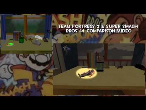Обновление блога разработчиков - Super Smash Brothers 64 Intro