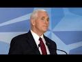 VP Pence reaffirms US commitment to NATO, EU