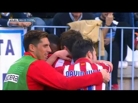 Málaga  vs Atlético Madrid 0-1 All Goals & Highlights 04.01.2014  | Malaga 0-1 Atlético