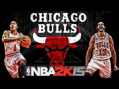 NBA 2k15 Team Ratings - Chicago Bulls!