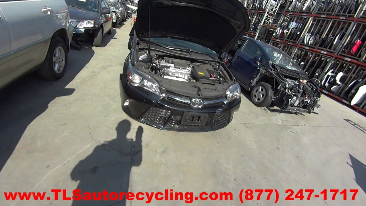 maxresdefault parting out 2015 toyota camry stock 6057yl tls auto recycling 2015 Toyota Camry at gsmportal.co