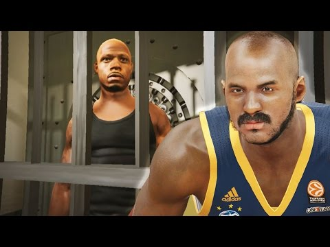 The NBA 2k16 Horsley My Career Story Ep. 5 of 10 - Serving Jail Time! Will Anyone Post Bail?