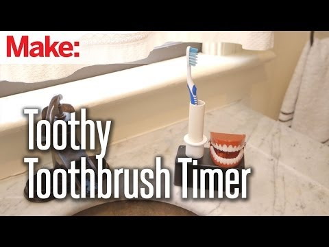 Brighten Your Smile with Weekend Projects and the Toothy ToothbrushTimer