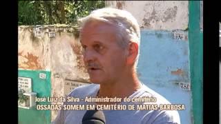 Parentes procuram por ossadas de familiares que sumiram de cemit�rio em Matias Barbosa