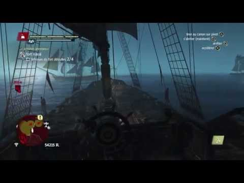 Assassin's Creed 4 : Black Flag : Prise d'un fort maritime
