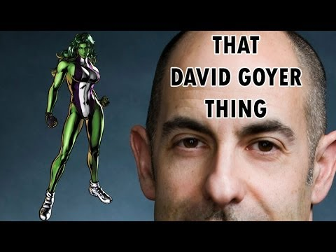 Doc's Diagnosis: That David Goyer Thing