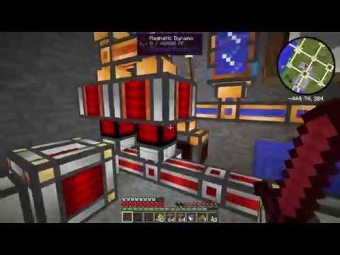 Minecraft GalvasPack Ep20 - Drum e Geothermal Generator
