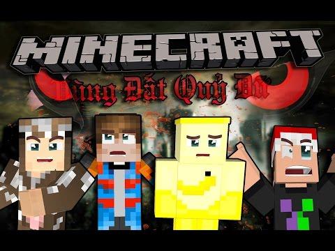 CHẠY LOẠN CÙNG QUỶ DỮ (Minecraft Vùng Đất Quỷ Dữ #1)