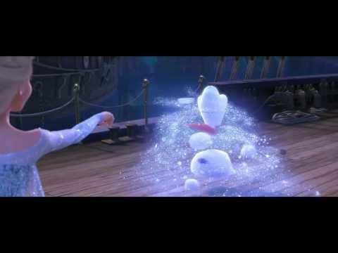 Frozen clipe em português-BR