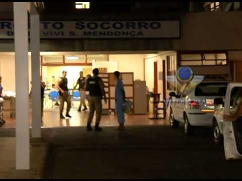 Suspeito baleado em troca de tiro com a PM é preso após ser socorrido