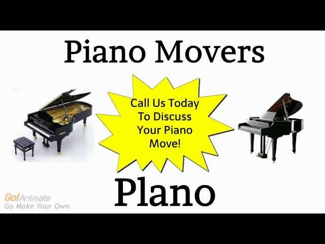 Piano Movers Plano TX | Call 972-767-9998 Affordable Piano Moving Service
