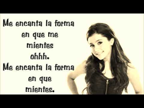 Ariana Grande  Love the way you lie  español