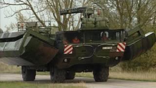 German Bundeswehr Amphibious Vehicle