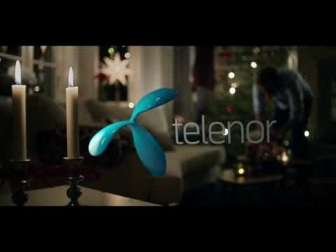 God Jul önskar Telenor