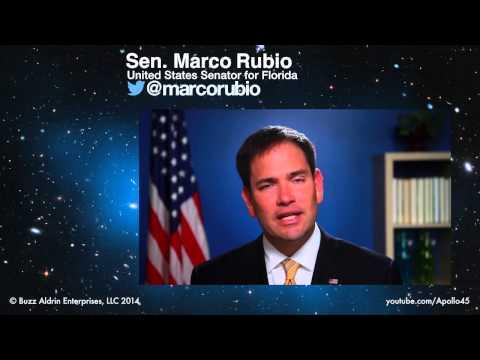 #Apollo45 | Senator Marco Rubio