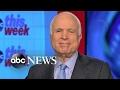 John McCain: Will Vote In Favor of Rex Tillerson